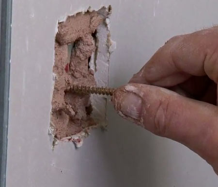 Repairing Plasterboard Holes | How to Repair Holes in