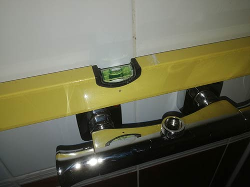 Level and square pipe trim covers