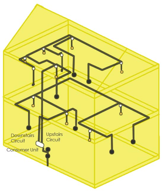 lighting circuit found in a house wiring a light fitting guide for how to fit a light fitting or wiring lights at crackthecode.co