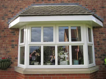 Support for bay window