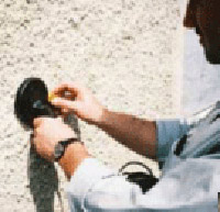 Special detector for detecting wall ties in a wall
