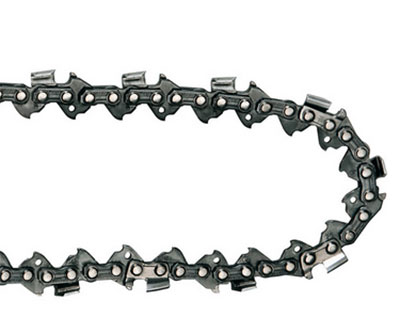 A length of chainsaw chain