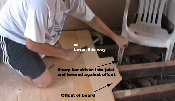 Replace All Floor Boards