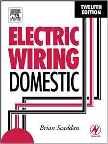 Electrical Wiring Domestic book available on Amazon