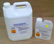 Apply a salt neutraliser to make sure that salts do not reappear on your walls