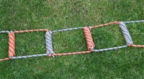 All rope rope ladder