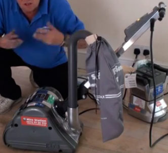 Drum sander from DIY Doctor Hire Centre