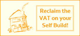 Reclaim the VAT on your self build project
