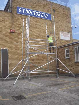 Scaffold Tower Sales: Constructing a Scaffolding Tower