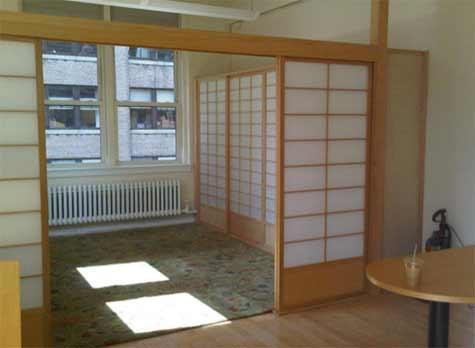 Japanese Paper Room Divider
