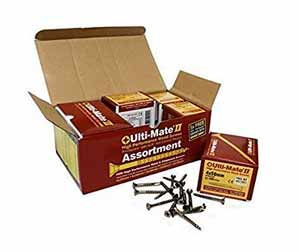Ulti Mate wood screws for external use