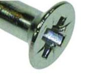 Pozidrive head screw