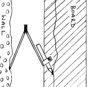 Scribing Timber