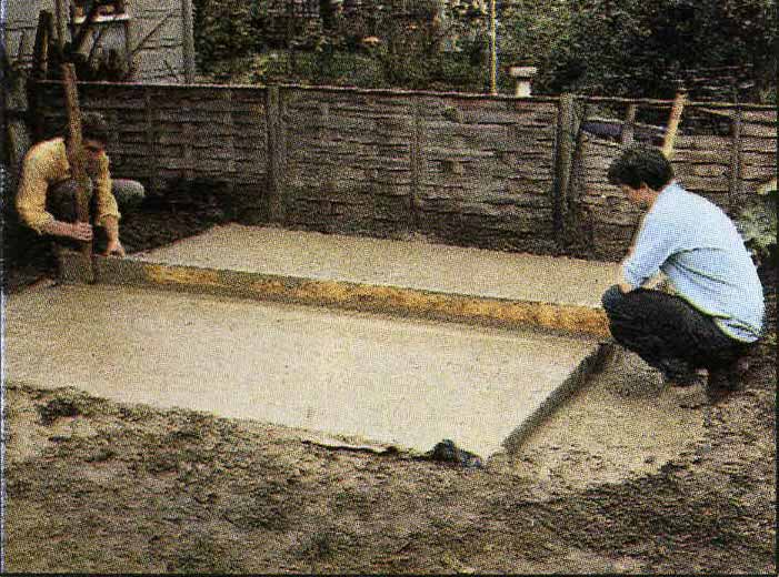 How To Build A Concrete Shed Base A Diy Guide To Laying