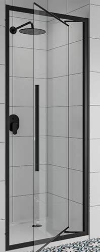 In-swinging shower doors