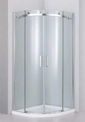 Standard quadrant shower enclosure