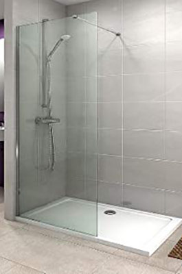 Walk-in or fixed diver panel shower enclosure
