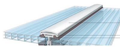 Glazing bar type waterproof joining trim