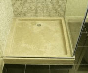 Stone resin shower tray