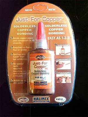 Solderless copper bonding