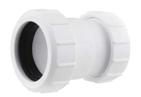 Compression waste fitting