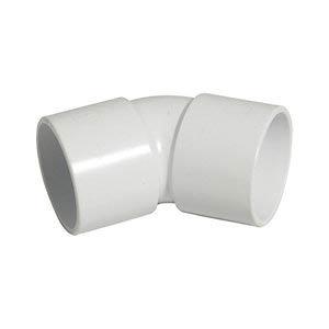 Solvent weld 135° gradual bend