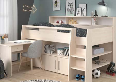 Cabin bed for children