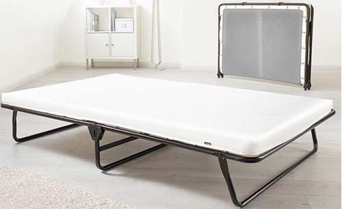 Space saving folding bed