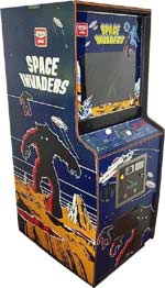 Space Invaders upright machine
