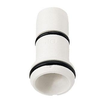 Plastic pipe insert