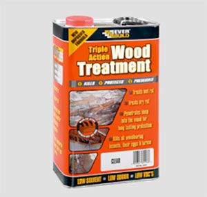 Lumberjack timber treatment