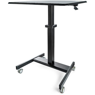 Portable or movable standing desk