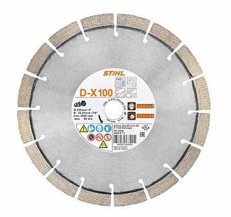 Diamond cutting disc or wheel for cut-off saw