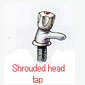 Shrouded Head Tap