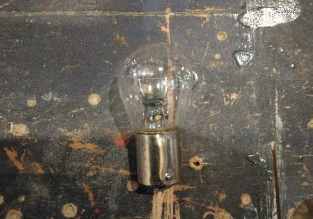 Car bulb to use for testing