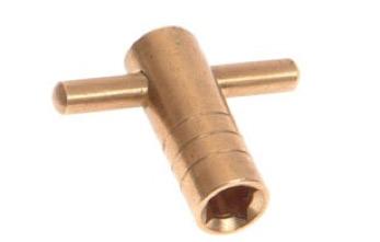 Faithfull Brass Radiator Key