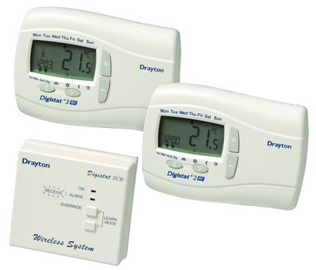 Drayton 2RF wireless programmable room thermostat system