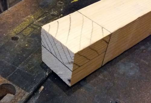 Timber Halving Joints And How To Make Halved Joints Diy