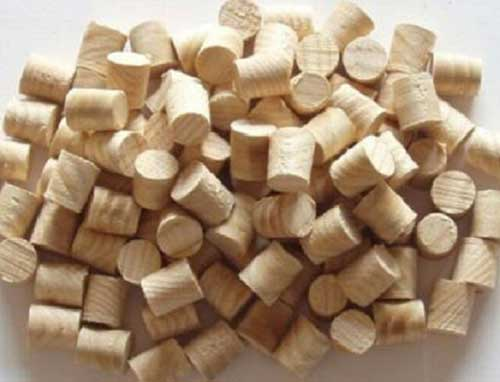 Pack of pre-made wood plugs