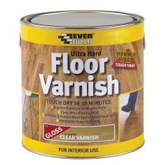 Everbuild Ultra Hard Floor Varnish