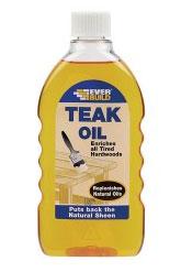 Everbuild Teak Oil