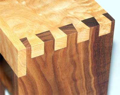 Full length dovetail joint