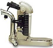 Upright cylinder floor sander