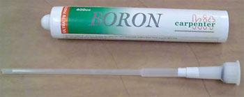 Boron Paste and Applicator Nozzle