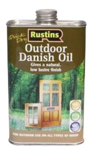 Water on wood treated with Danish Oil