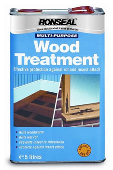 Decking and wood treatment