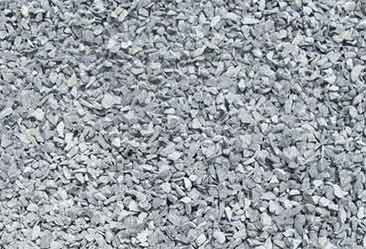 Cleaned aggregate ready for use