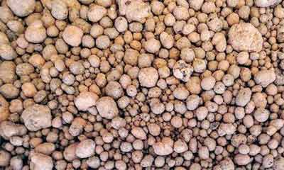 Vermiculite light weight aggregate