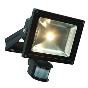 LED security floodlight with PIR