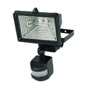 Halogen PIR security light